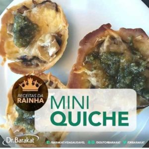 Mini Quiche De Cogumelo