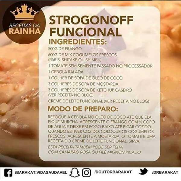 Strogonoff funcional