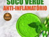 Suco verde anti-inflamatório