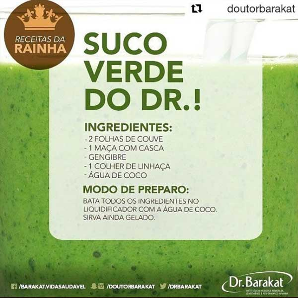 Suco Verde - DR. Barakat